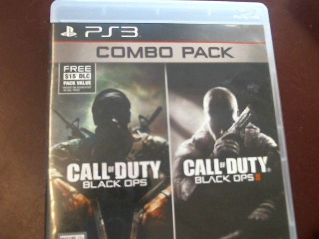 SONY PS3 CALL OF DUTY BLACK OPS COMBO PACK