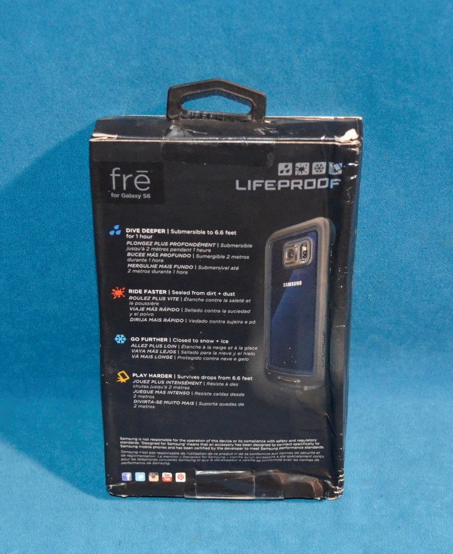 LIFEPROOF FRE GALAXY S6 CELL PHONE COVER/CASE