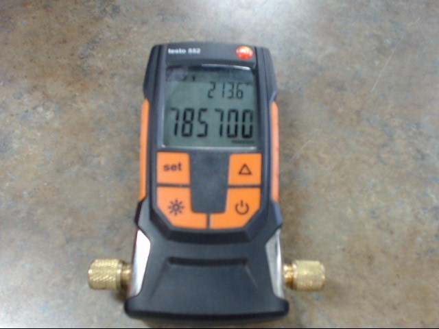 TESTO Diagnostic Tool/Equipment 552