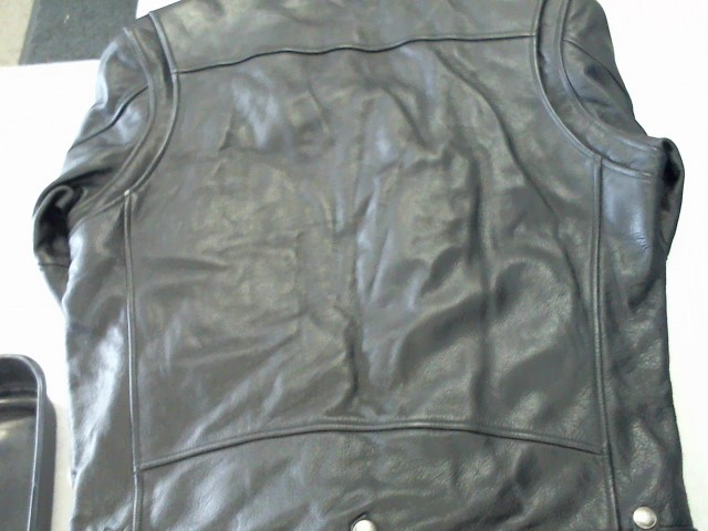 HARLEY DAVIDSON Coat/Jacket LEATHER JACKET MENS