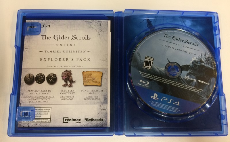 THE ELDER SCROLLS: TAMRIEL GAME FOR PS-4, FREE SHIPPING