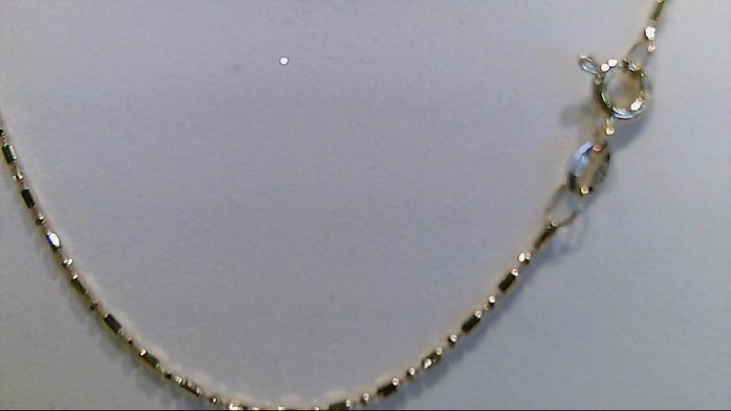 14k yellow gold 16 inch fashion chain