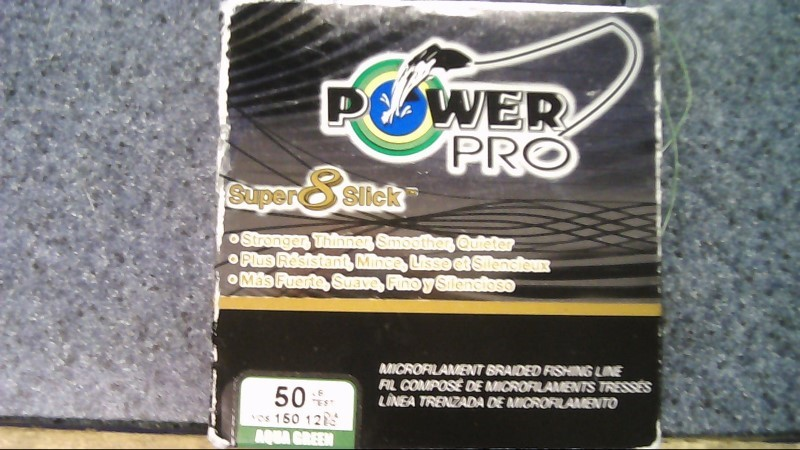 POWER PRO SUPER 8 SLICK 50lb 150yd