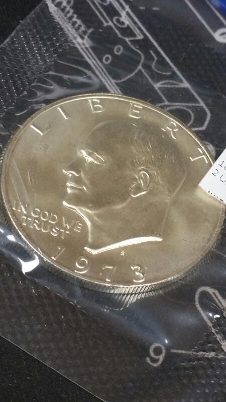 UNITED STATES Coin EISENHOWER DOLLAR 1971-1976
