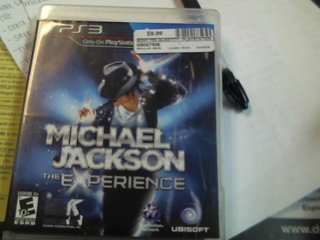 SONY PS3 MICHAEL JACKSON EXPERIENCE