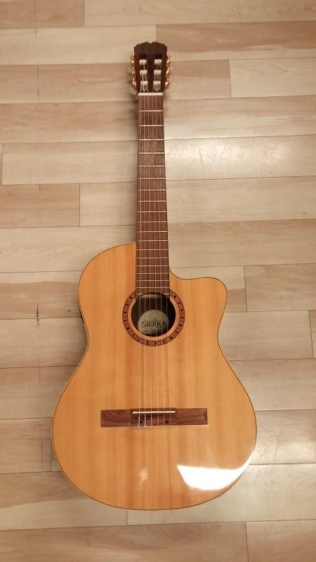 SIERRA Acoustic Guitar SC140CE