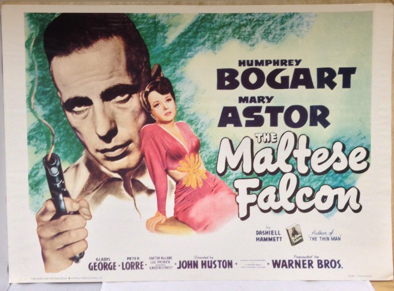THE MALTESE FALCON MOVIE POSTER PORTAL PUBLICATIONS