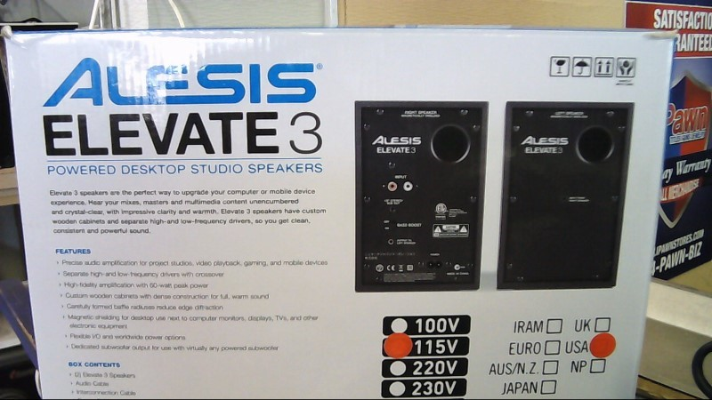 ALESIS Monitor/Speakers ELEVATE 3