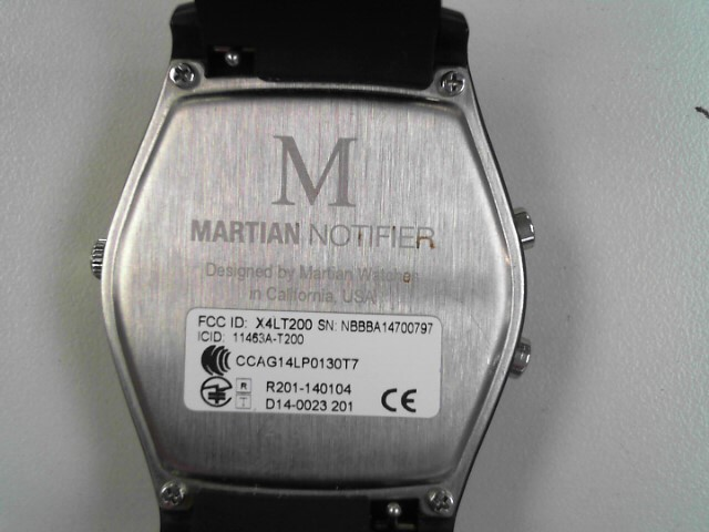 MARTIAN NOTIFIER T200