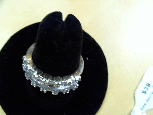 Lady's Diamond Fashion Ring 41 Diamonds .55 Carat T.W. 10K Yellow Gold 4.2g