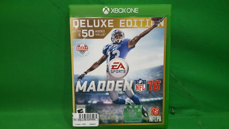 Madden NFL 16 -- Deluxe Edition (Microsoft Xbox One, 2015)