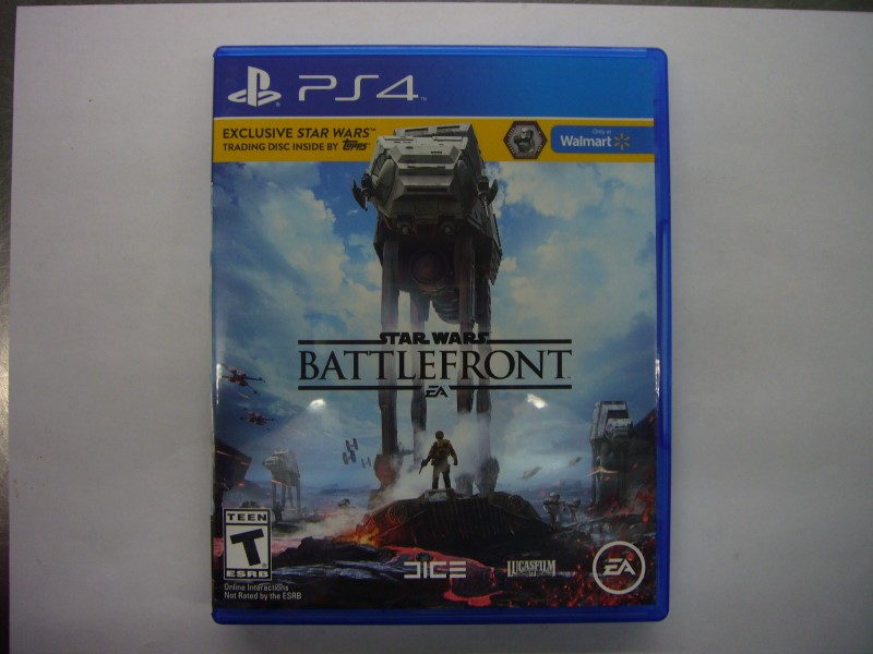 SONY PlayStation 4 Game STAR WARS BATTLEFRONT