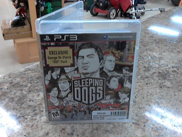SONY Sony PlayStation 3 Game PS3 SLEEPING DOGS