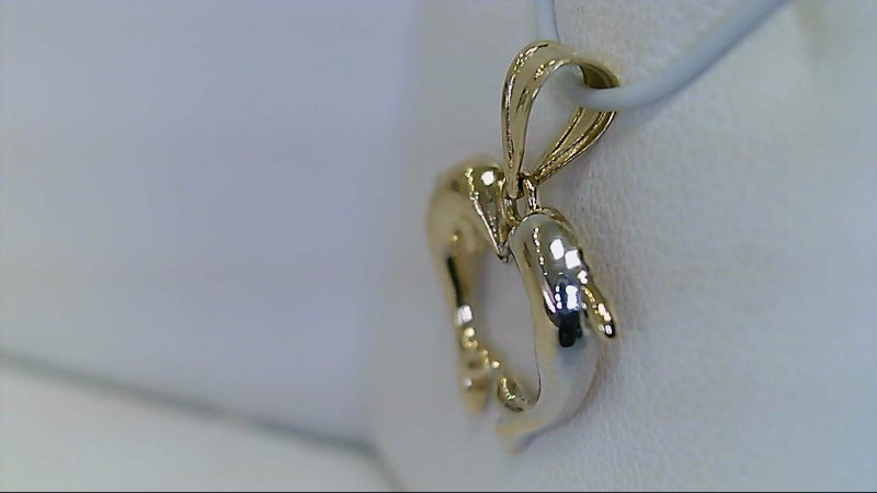 Gold Pendant 14K Yellow Gold 1.02g