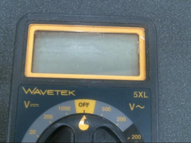 WAVETEK Multimeter 5XL