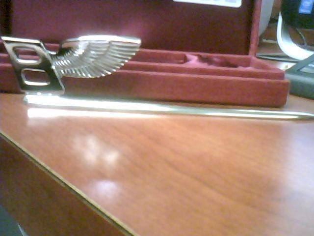 BENTLEY Showroom Paperknife Flying B Letter Opener in giftbox