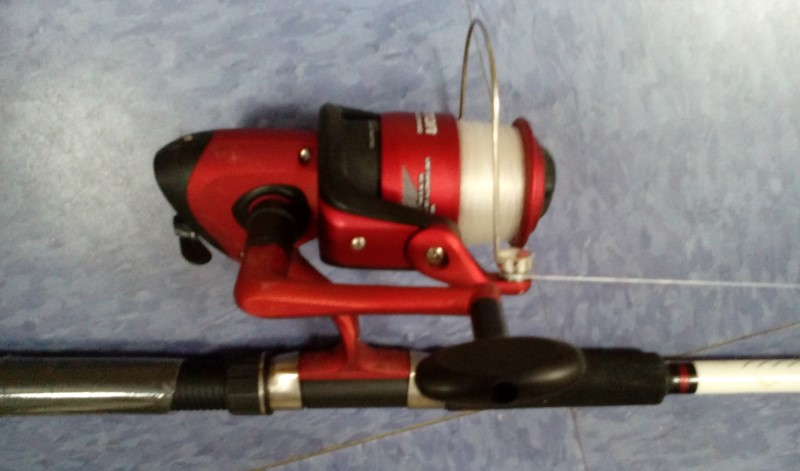 SOUTH BEND COM 155 SALTWATER ROD/REEL COMBO