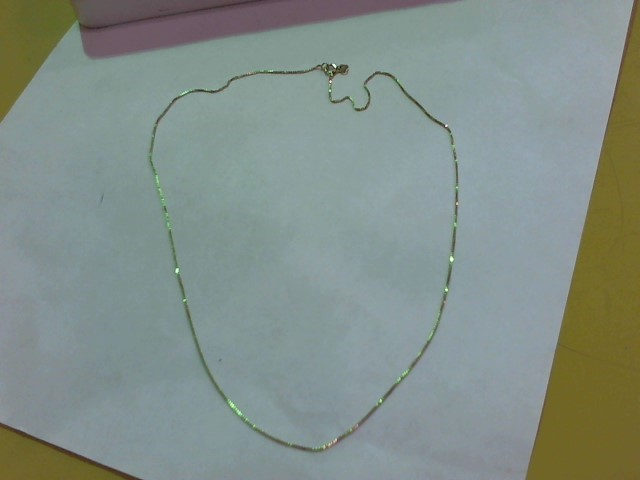 "18"" Gold Fine Chain 14K Yellow Gold 1.5g"