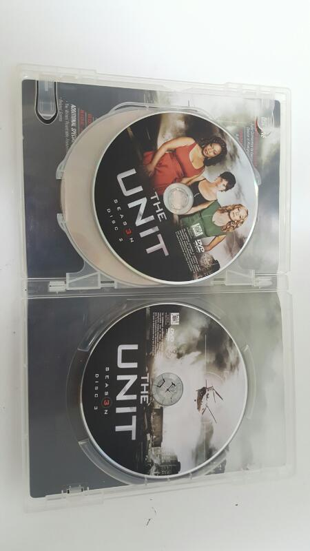 The Unit Season 3 on DVD