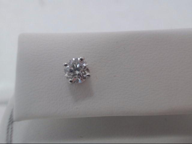 Gold-Diamond Earrings .92 CT. 14K White Gold 2g