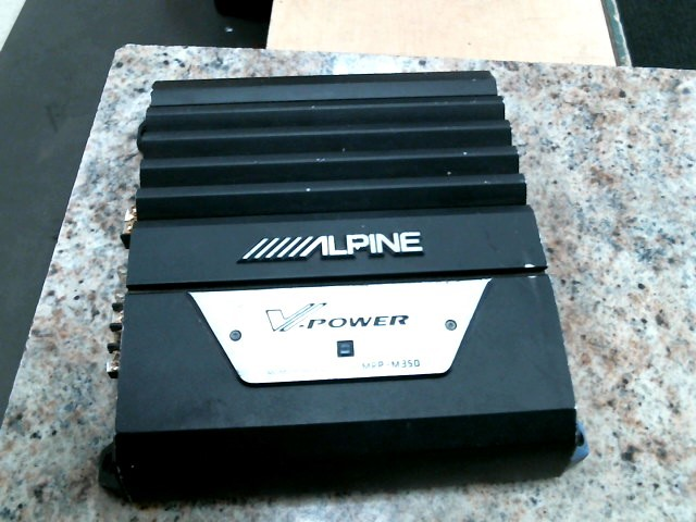 ALPINE ELECTRONICS Car Amplifier MRP-M350