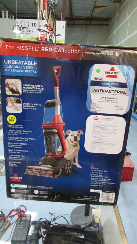 BISSELL Carpet Shampooer/Steamer PROHEAT COMPLETE PET 2X