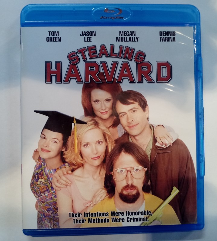 BLU-RAY STEALING HARVARD