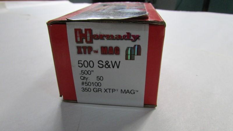 HORNADY XTP 500 S&W QTY 1