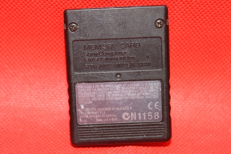 Playstation 2 8MB Memory Card Magic Gate FREE SHIPPING SCPH-10020 Made In Japan