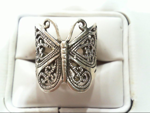 Lady's Silver Ring 925 Silver 6.9g