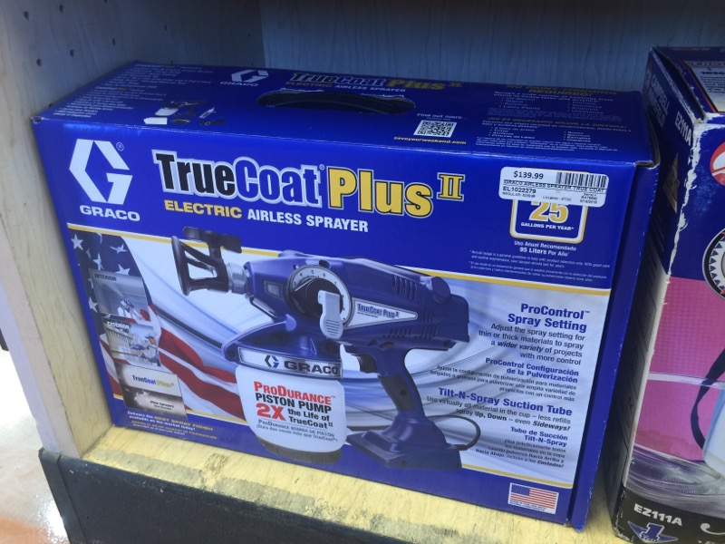 GRACO Airless Sprayer TRUE COAT PLUS II