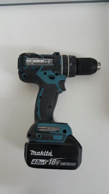 Makita XT248M 18V Compact Li-Ion Brushless Cordless Kit - XDT08 + XPH06