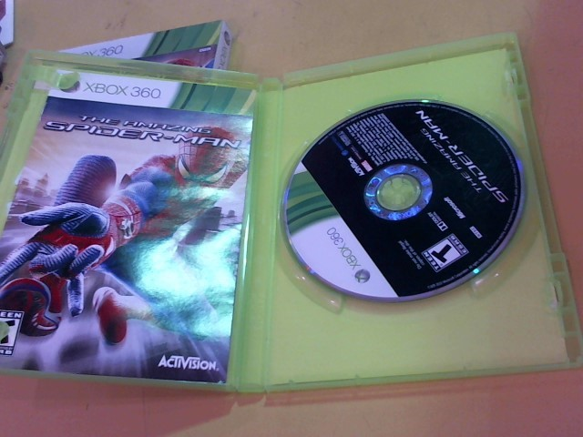 MICROSOFT Microsoft XBOX 360 Game THE AMAZING SPIDER-MAN