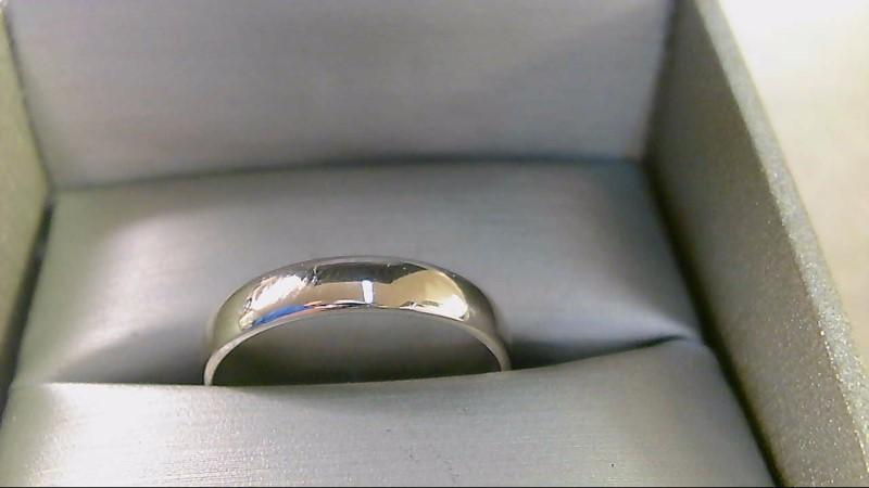 Lady's Gold Ring 14K White Gold 3.2g