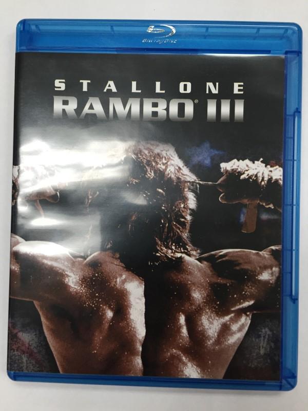 BLU RAY MOVIE RAMBO III