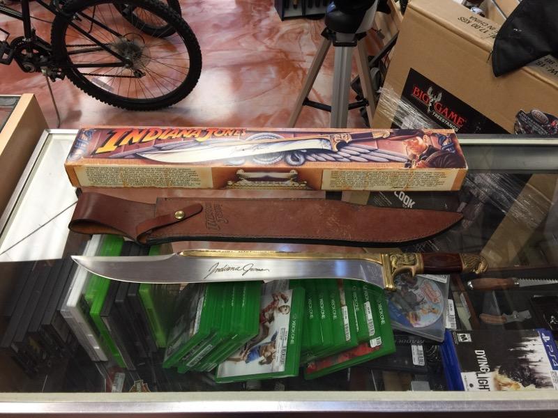 Lucas Arts Indiana Jones Khyber Bowie Knife