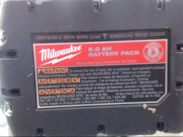 MILWAUKEE Battery 48-11-1850