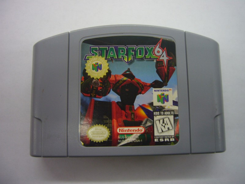 NINTENDO 64 Game STAR FOX 64 *CARTRIDGE ONLY*