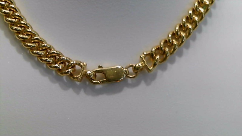 "20"" Gold Chain 22K Yellow Gold 24.4g"