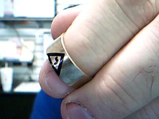 Gent's Gold Ring 10K Rose Gold 5.53g