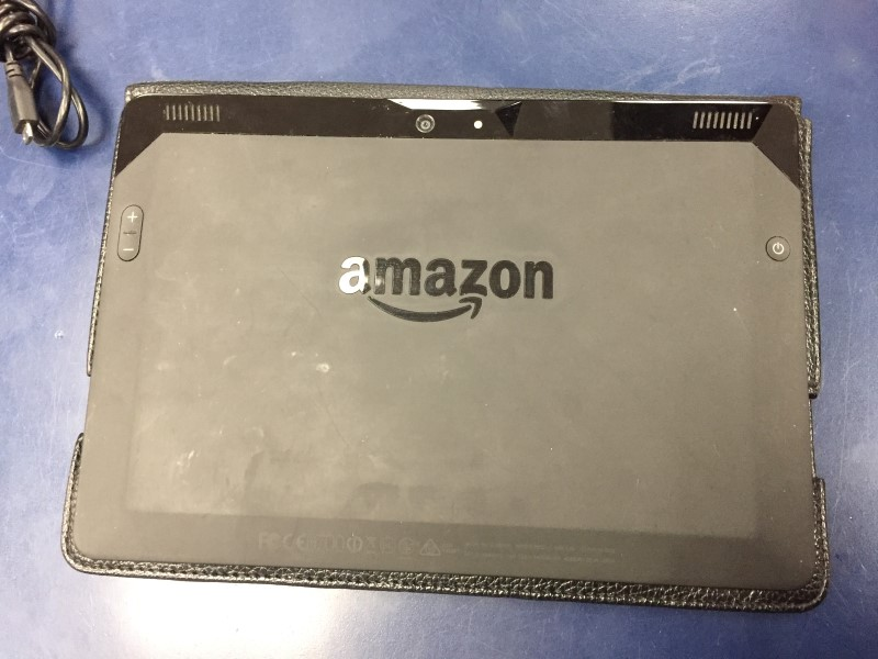 AMAZON Tablet KINDLE FIRE HD 16GB with KEYBOARD CASE