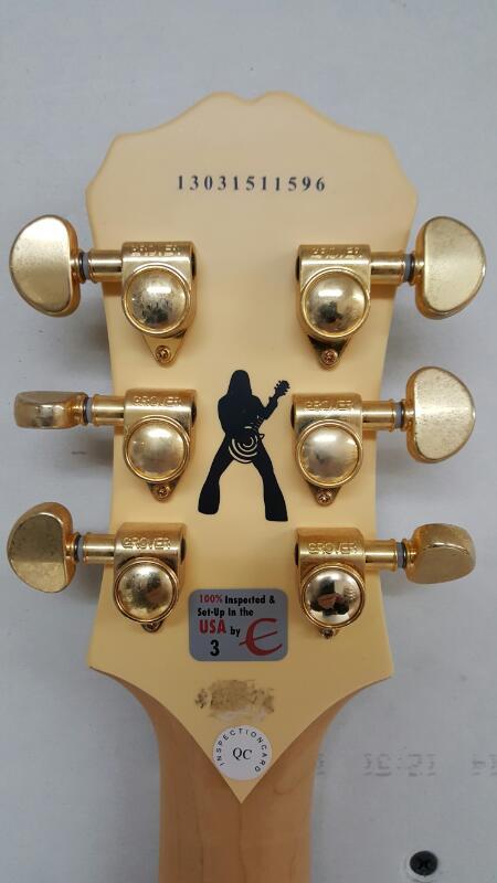 Epiphone Les Paul Custom Zakk Wylde Electric Guitar w/ Coffin Case