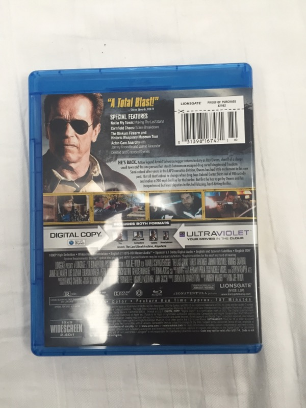 BLU-RAY THE LAST STAND