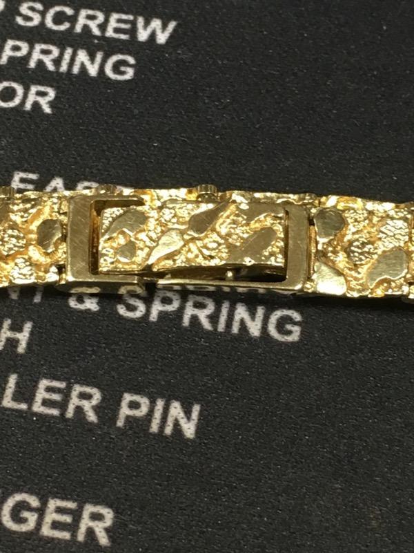 Gold Bracelet 10K Yellow Gold 10.7dwt