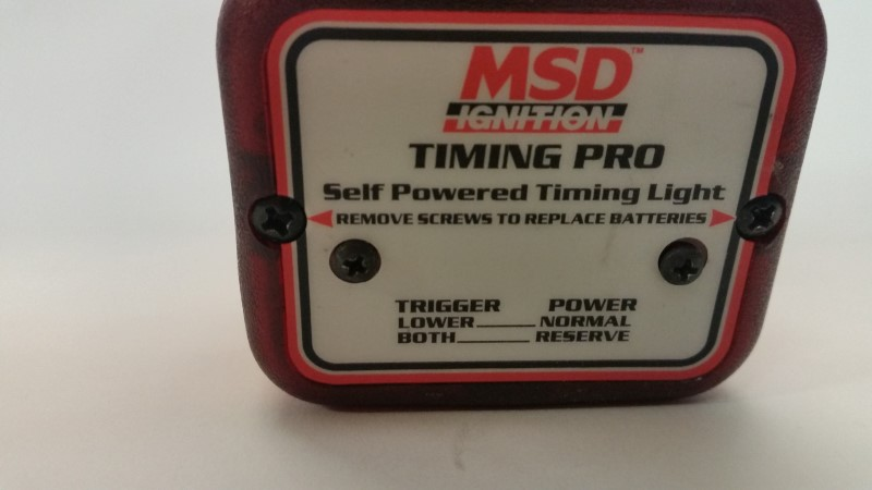 MSD PERFORMANCE TIMING LIGHT GUN PN8991]
