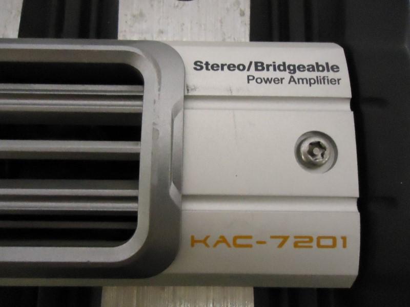 KENWOOD Car Amplifier KAC-7201