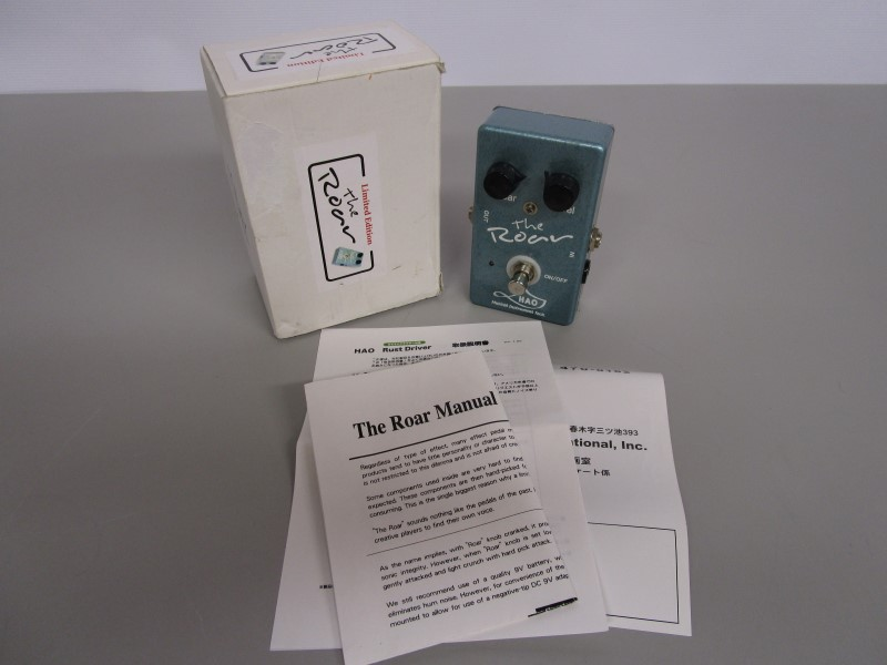 "HAO ""THE ROAR"" #98 OUT OF 100!!! BOOST / OVERDRIVE / FUZZ PEDAL"