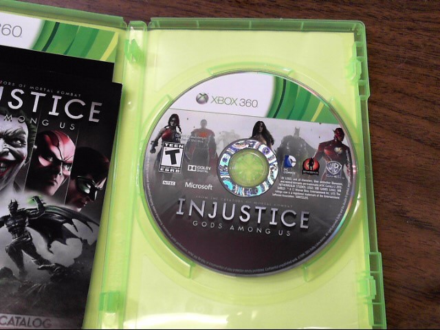 MICROSOFT Microsoft XBOX 360 Game INJUSTICE GODS AMONG US