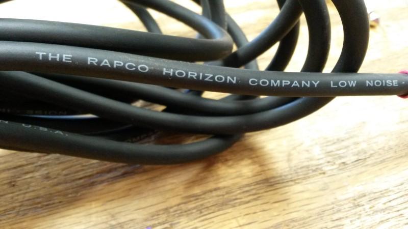 RAPCO HORIZON Cable LOW NOISE CABLE