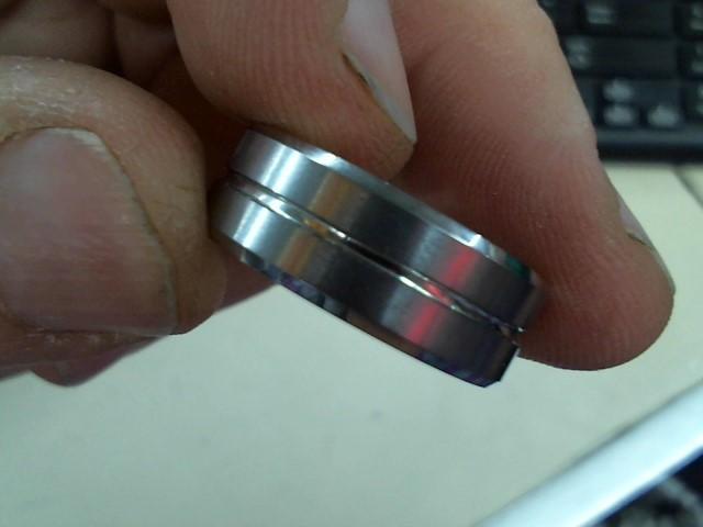 Gent's Ring Antique Tungsten 18g